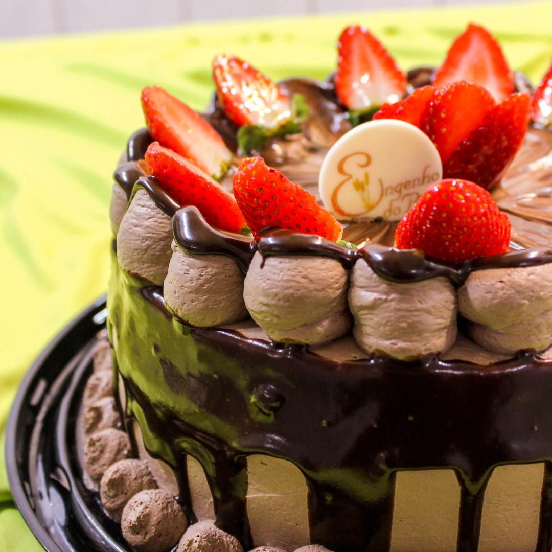 Torta Chocolate ocm Morango