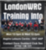 LondonWRC Training Info