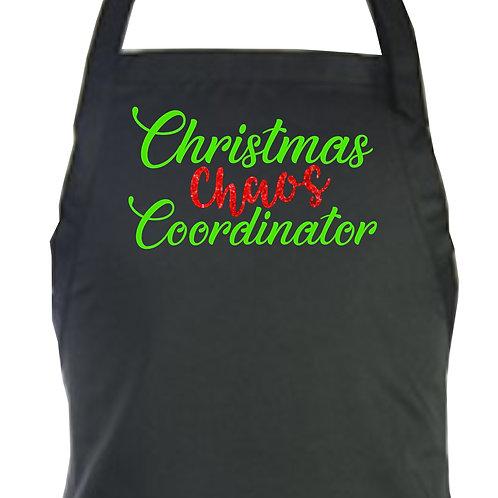 Christmas Chaos Coordinator Apron