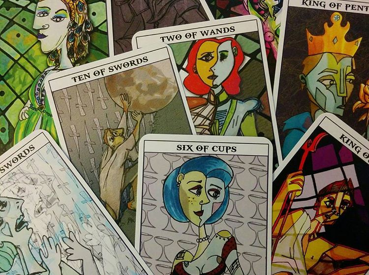 Mythological Abstractions tarot