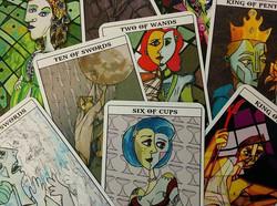 Mythological Abstractions tarot