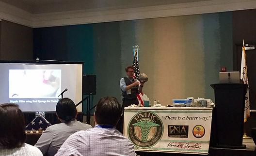 Post Mortem Cosmetics Seminar Dean Jones Speaking