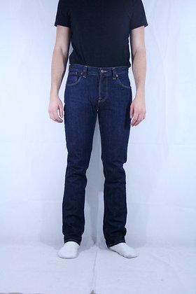 Nudie dark blue jeans W33