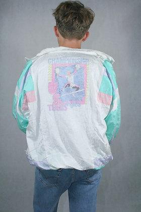 Neon fluffy jacket, unisex