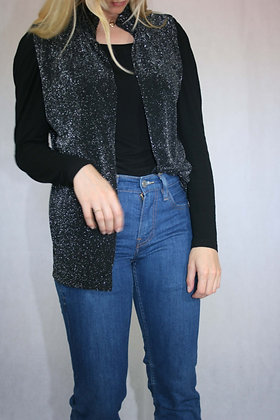 Sparkly vest, size M