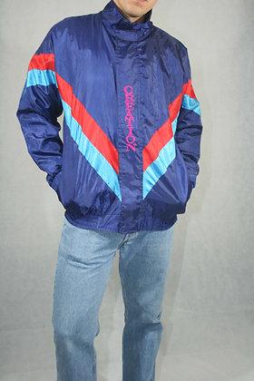 Blue fluffy jacket, unisex