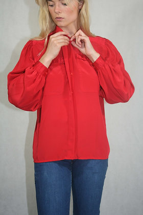 Red blouse, size M