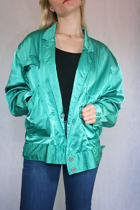 Green sparkly jacket, size M