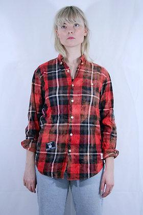 Reborn checkered red shirt