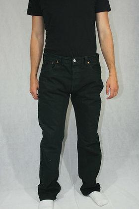 Levi's black 501's W36