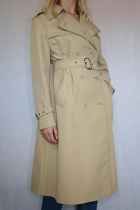 Beige Junesco coat, size S