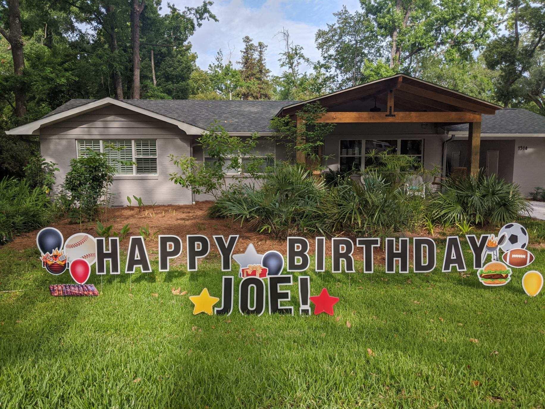 Joes Birthday