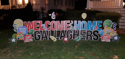welcome home- closing