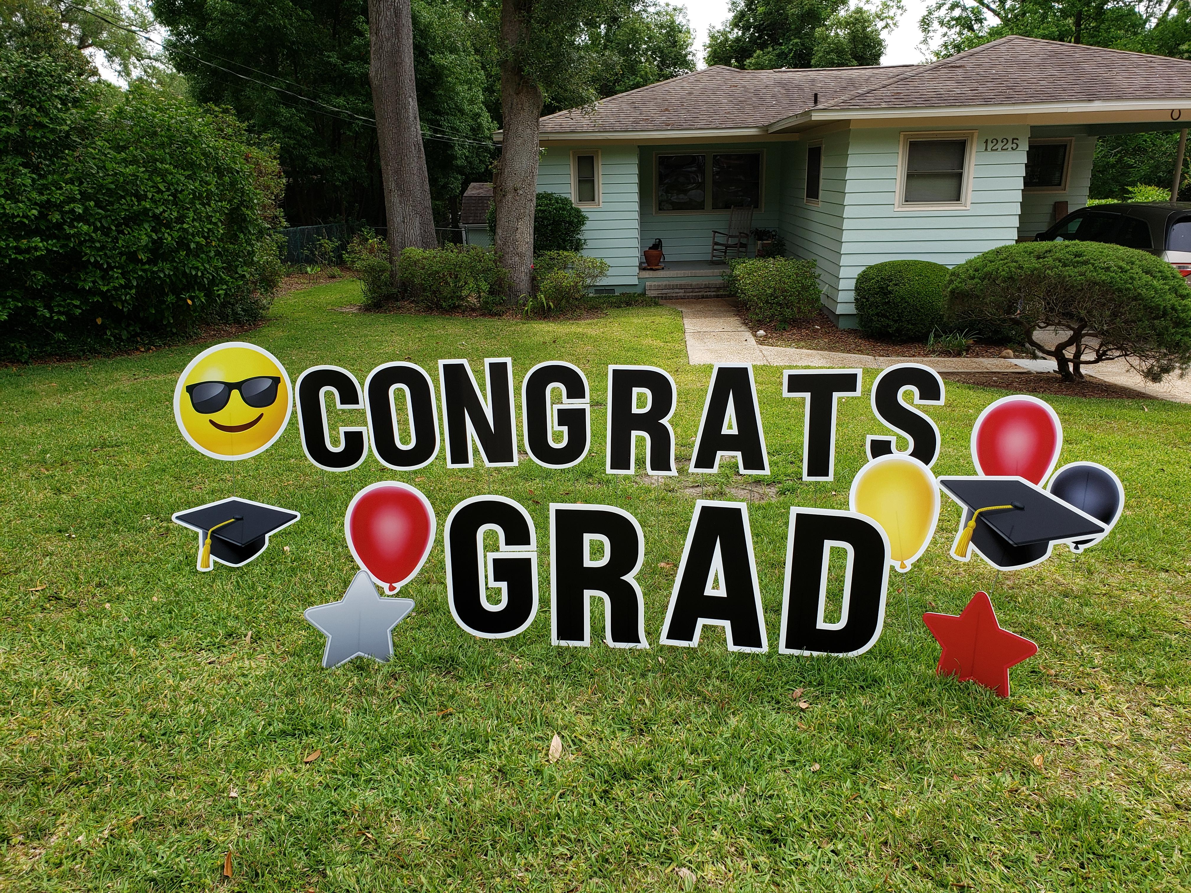 Congrats Grad 2nd view