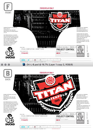 Titan Mens Gear-Travel Team