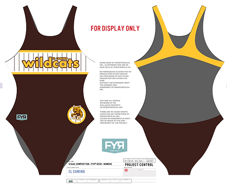 El Camino Women Swim Suit