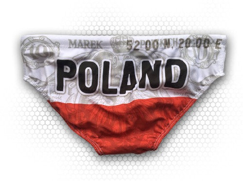 SWIMSUIT WATERPOLO POLAND