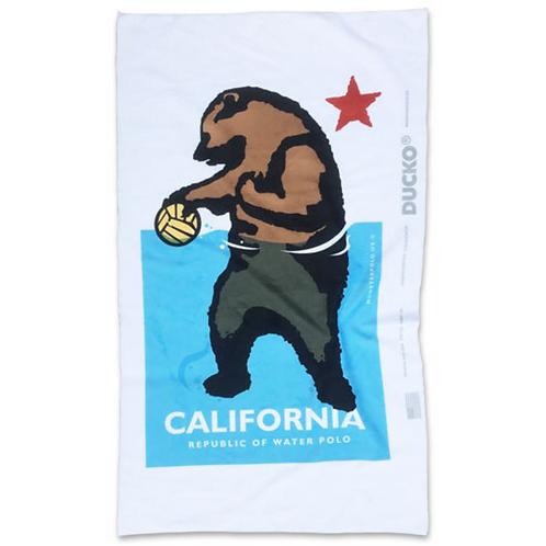 CALIFORNIA BEAR TOWEL