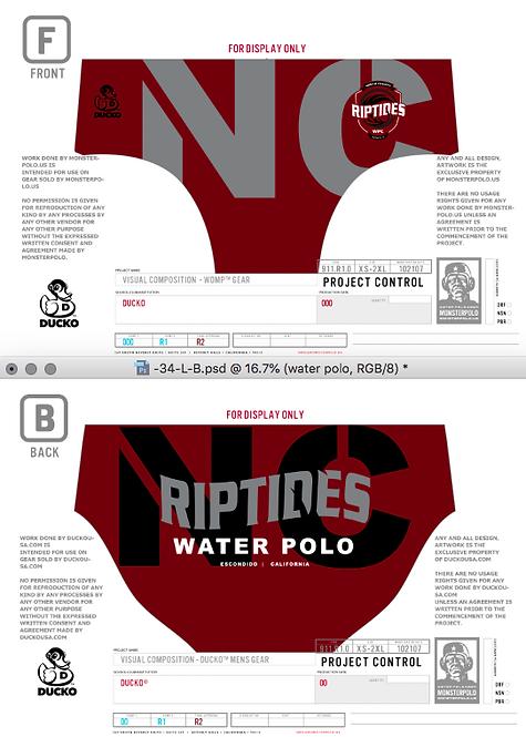 NC Riptides Mens Suit 2020