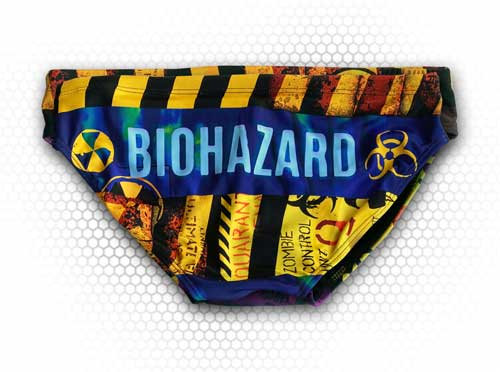 SWIMSUIT WATERPOLO BIOHAZARD