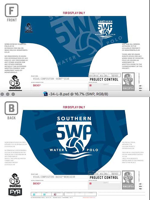 Southern WPC Mens Suit