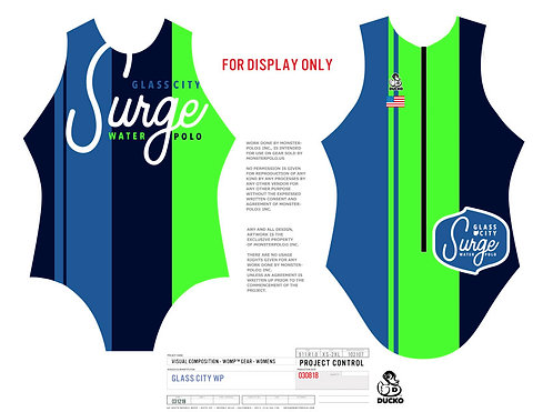 Glass City Official Girls Team Suit