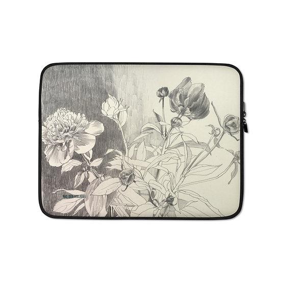 Laptop-Tasche, Pfingstrosen, ab 45 EUR