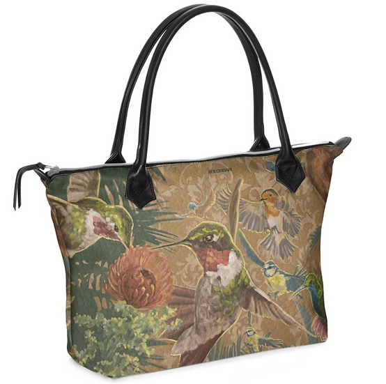 "Art on a Bag, ""Paradies"", echtes Leder"