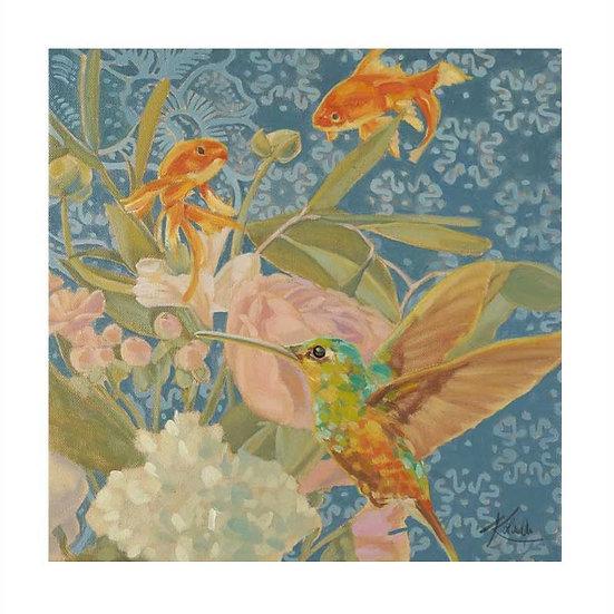 Fine Art Papier, 40 x 40 cm