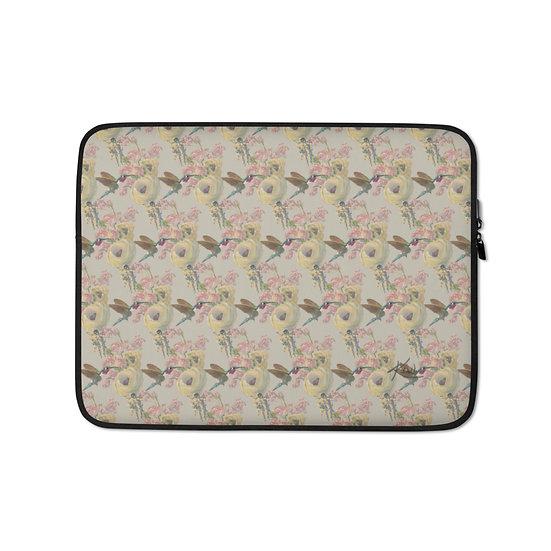 Laptop-Tasche, Astronaut & Kolibri, Sand