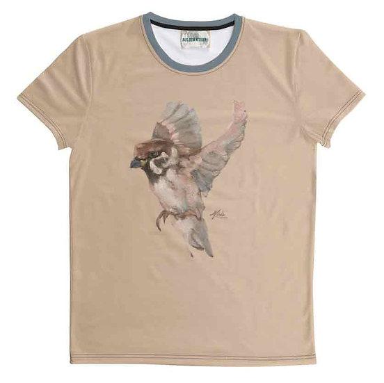 T-Shirt Kohlmeise, unisex