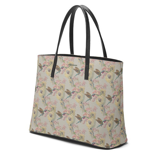 Art on a Bag, leather, soft beige, from 249 EUR