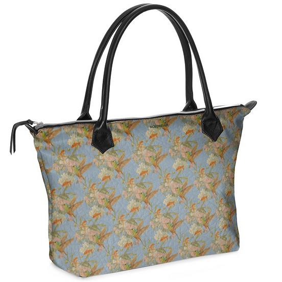 Art on a bag, grau/blau, ab 149 EUR