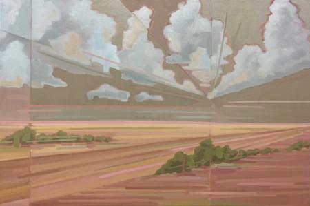Öl auf Leinwand 150 x 100 cm