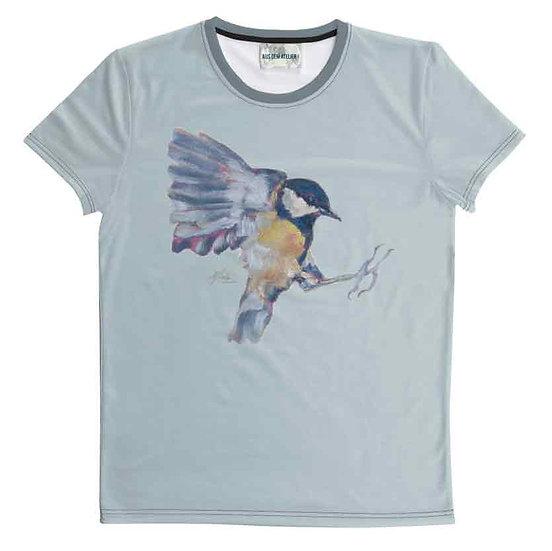 T-Shirt Blaumeise, unisex