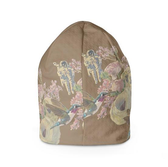 Beanie-Mütze, braun
