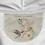 Thumbnail: Hoodie-Pullover, Kolibri und Astronaut, beige, unisex