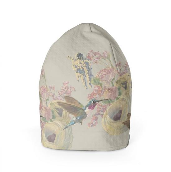 Beanie-Mütze, beige