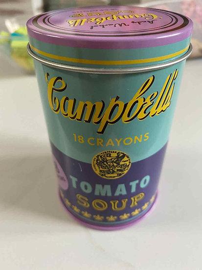 Andy Warhol, Blechdose mit Wachsmalstiften