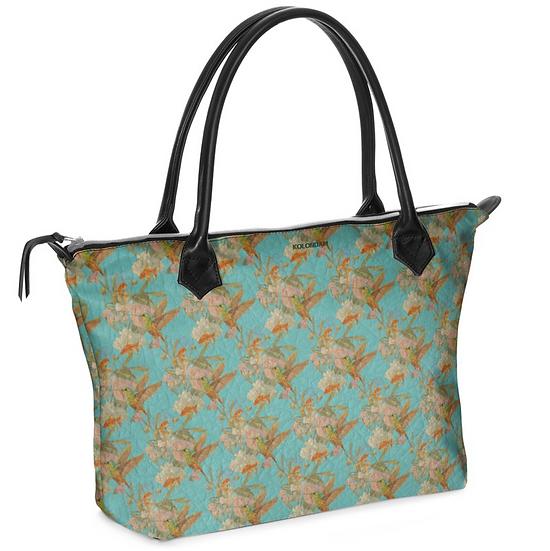 Art on a bag, asiatisch blau, ab 149 EUR