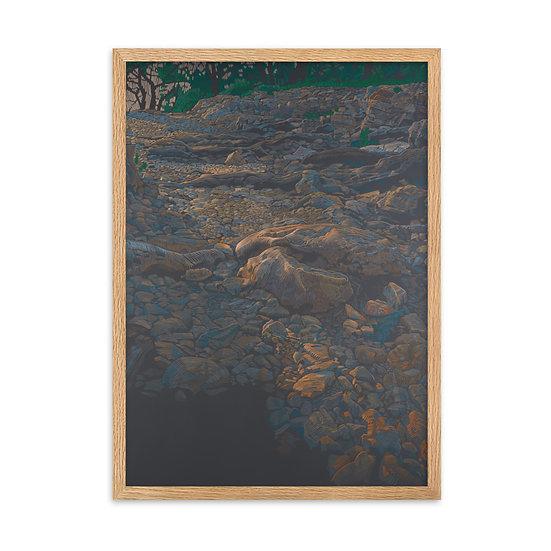 Fine-Art-Print, Felsweg, in 4 different formats