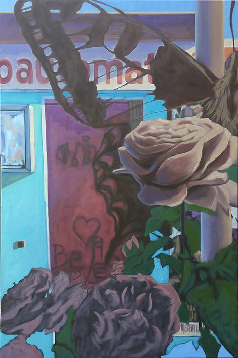 Scmetterling und Rosen