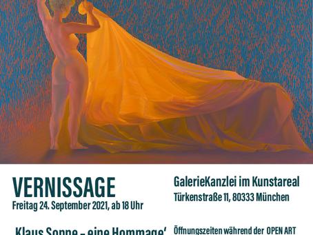 Herzliche Einladung zur Ausstellung in der GalerieKanzlei in München während der OPEN ART