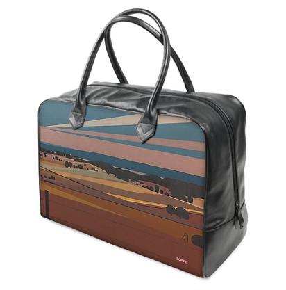 Art on a Bag, Reisetasche mit Canvas oder Canvas/Leder, 2 Größen
