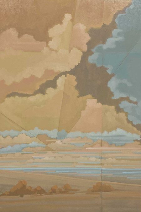 Öl auf Leinwand 100 x 150 cm