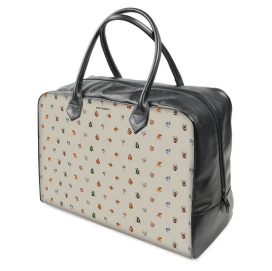 Art on a Bag, Reisetasche, Canvas/Leder, Pattern Tierchen, ab 200 EUR