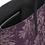 Thumbnail: Tragetasche, Leder, Pfingstrosen pattern, aubergine, 249 EUR