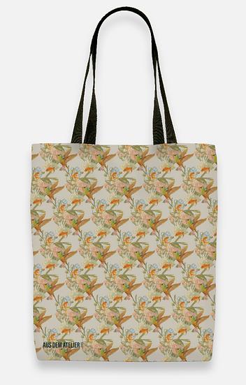 Cool shopper, soft beige, 40 x 40 cm