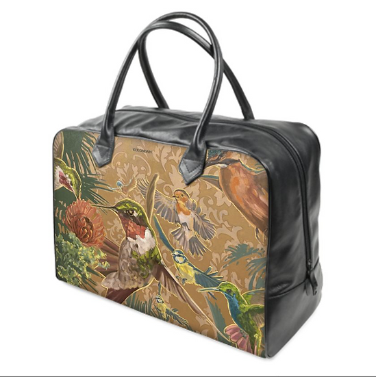 Art on a Bag, Reisetasche mit Canvas oder Canvas/Leder, 2 Größen, ab 190 EUR