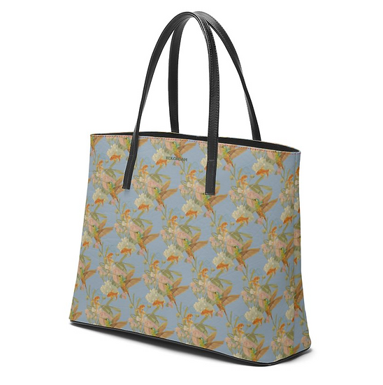 Art on a Bag, Leder, grau/blau, ab 249 EUR